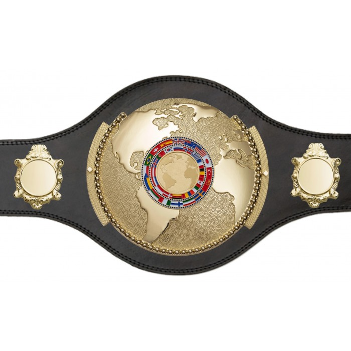 WORLD CHAMPIONSHIP BELT - PLT309/G/FLAGG